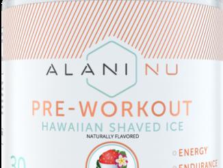 Aluni Nu pre-workout review