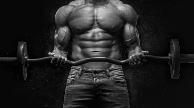Ripped guy