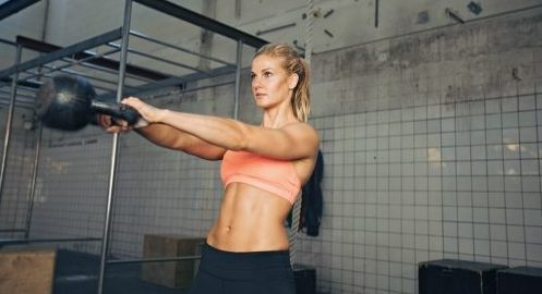 Kettlebell workouts that burn fat