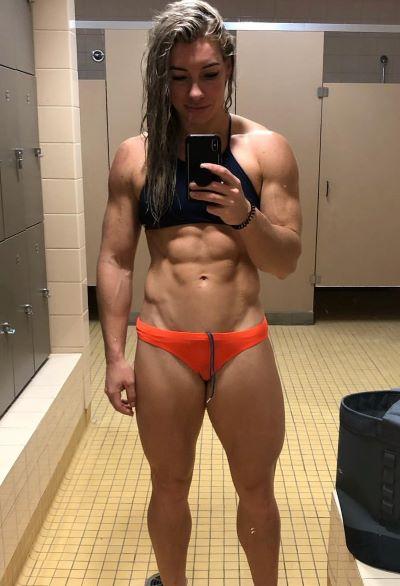 Busty hot fitness tube