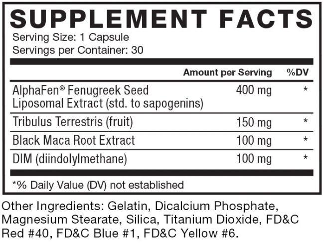Alpha King Ingredients