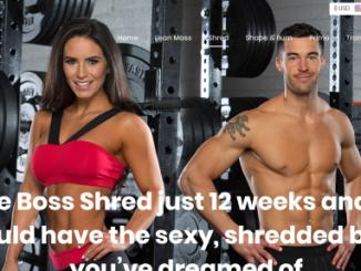 Boss Shred workout program