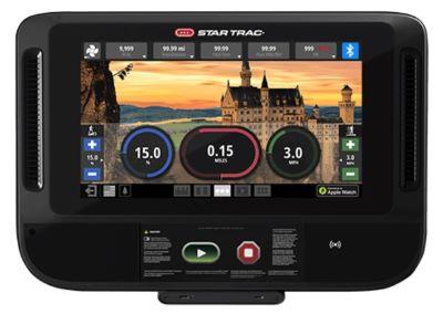 Star Trac 10TRx FreeRunner Treadmill console