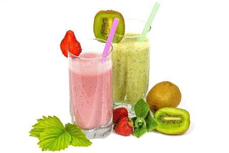 Healthy shake drink