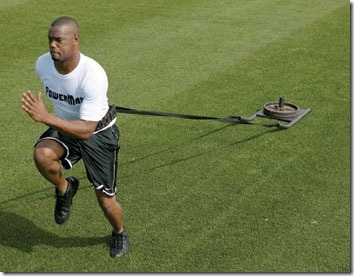 weighted sled pull