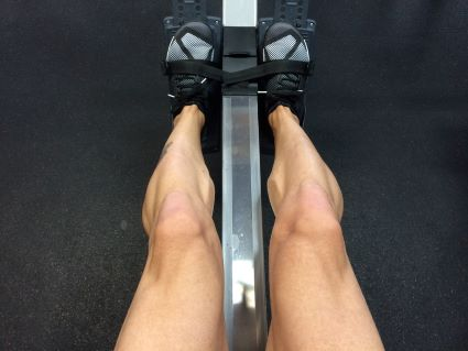 rowing machine legs
