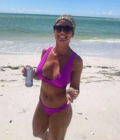 Natalia Ghilzon bikini