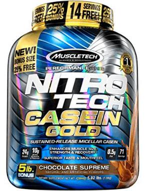 Nitro Tech Casein Gold Protein
