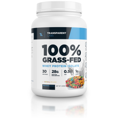 100% grass-fed whey protein isolate