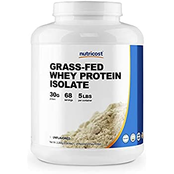 Whey Protein Isolate by Nutricost