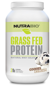 Grass-Fed Whey Isolate byNutraBio