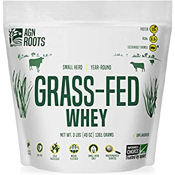 Grass-Fed Whey by AGN Roots