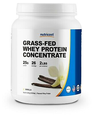 Nutricost Grass-Fed Whey Protein Isolate