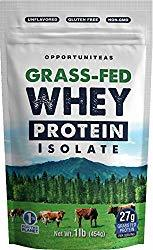 Grass-Fed Whey Protein Isolate & Concentrate by Opportuniteas