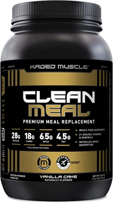 Kaged Muscle Clean Meal
