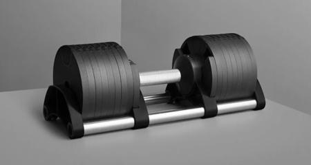 NÜOBELL 80 LB Adjustable Dumbbells