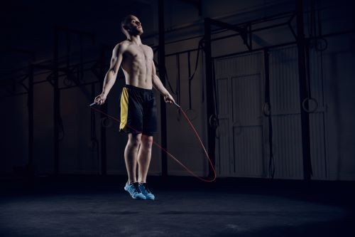 Jumping rope guy